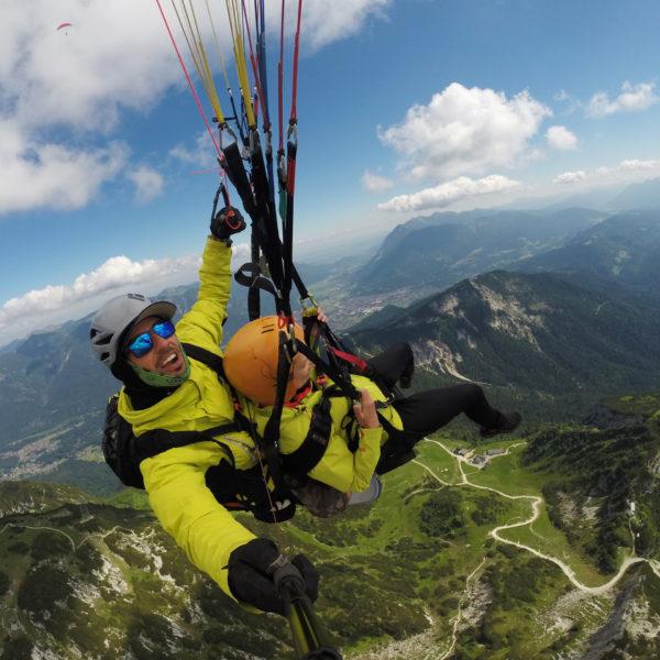 Gutschein für Panoramaflug Garmisch-Partenkirchen