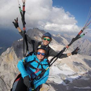 Gutschein für Thermikflug Garmisch-Partenkirchen